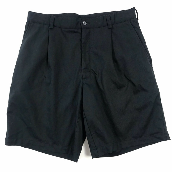 Nike Other - Nike Golf Dri-Fit Pleated Front Shorts Sz 34